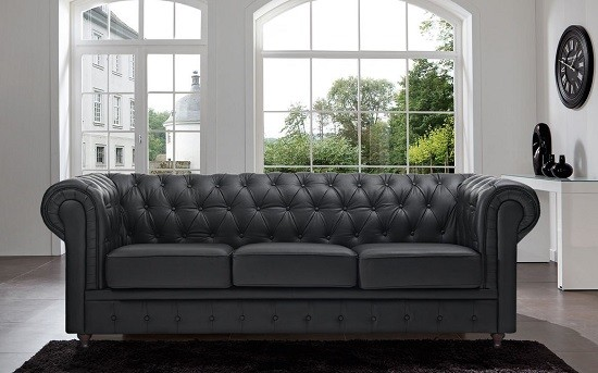 Best Leather Chesterfield Sofas 2017