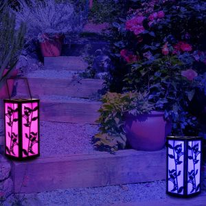 Color Changing Outdoor Hanging Lantern