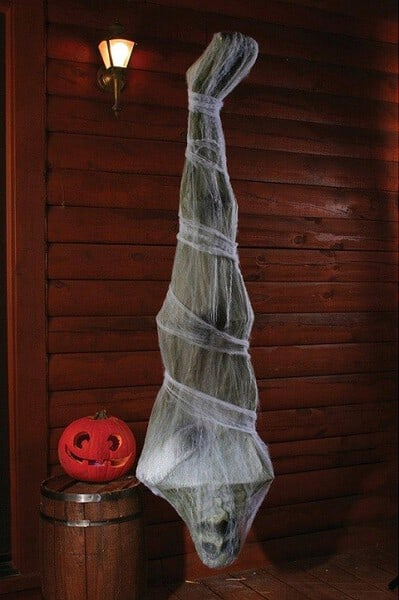 Cocoon Corpse - Large Outdoor Halloween Decor