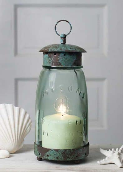 Mason Jar Candle Lantern