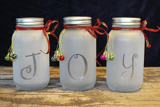 Mason Jar Christmas Light