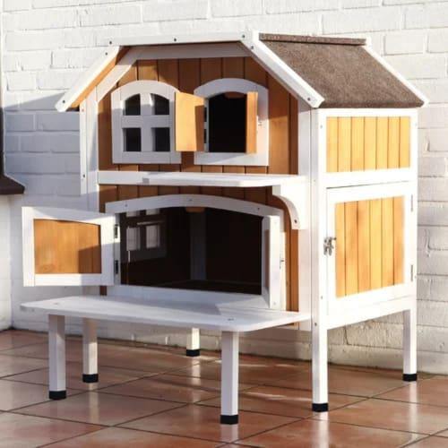 2 Story Outdoor Cat House