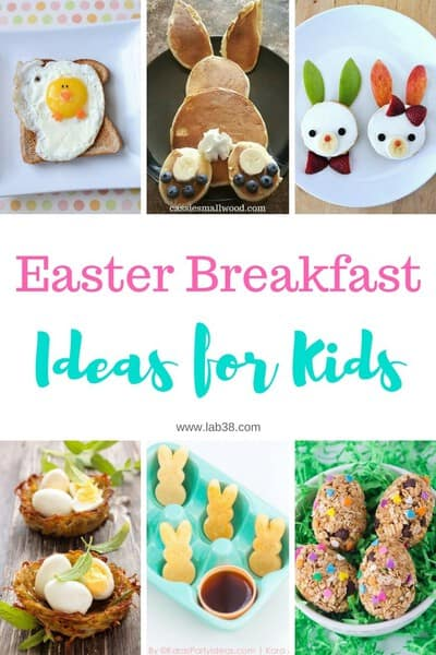 Easter Breakfast Ideas for Kids #easterbreakfastideas #easterrecipes