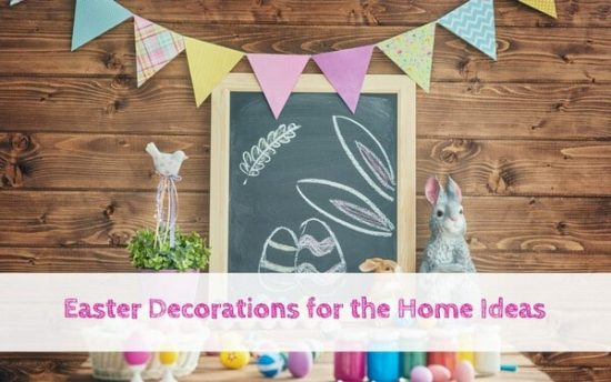 Easter Decorations for the Home #Easterdecor #Homedecorforeaster