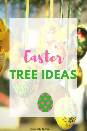 Easter Tree Ideas - Easter tree decorating ideas and DIY #easterdecor #eastertreedecor