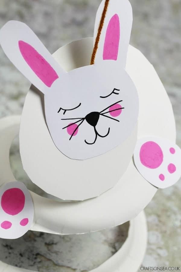 Paper Plate Rabbit Twirler