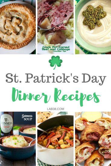 St. Patrick's Day Dinner Recipes