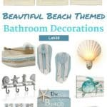 Beautiful and Bold Beach Themed Bathroom Decorations